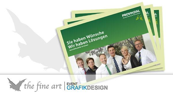 Provinzial Broschüre - The Fine Art Gronau