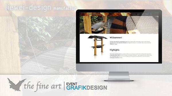 Liewei Design Neue Internetseite - The Fine Art Gronau