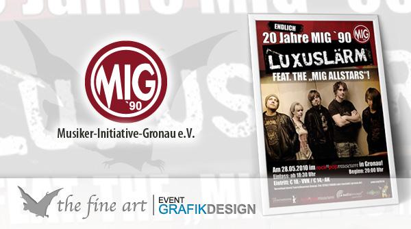 Plakat Luxuslärm