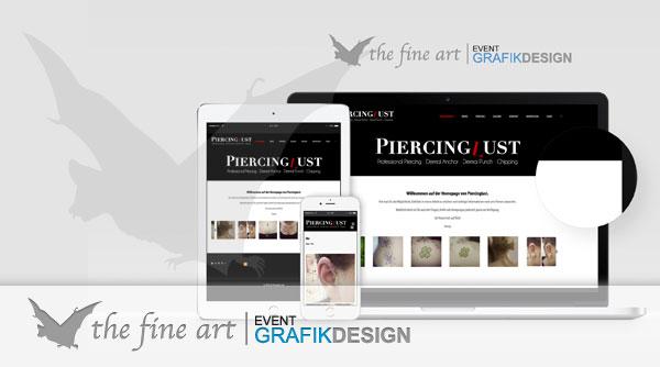 Piercinglust neue Website