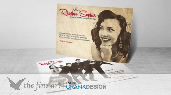 Postkarten Rhythm Miss Sophie