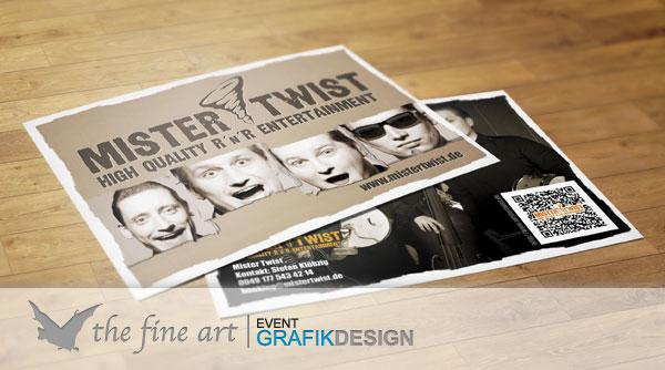 Postkarten Mister Twist