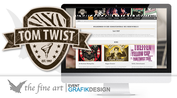 News Tom Twist homepage by thefineart